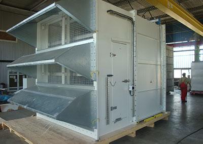 Компоненти за компактни газови електроцентрали